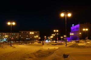 Березники. Советская площадь.