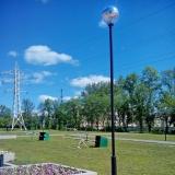 Фонари в парке