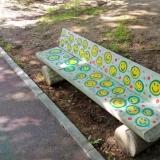 Скамейки в парке