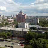 Вид с колеса обозрения в Перми