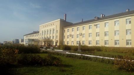 Ависма главное здание крупным планом
