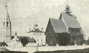 535 Церковь Собора Божьей матери каменная 1748 г. 536 деревянная зимняя 1724 г. с. Березники.