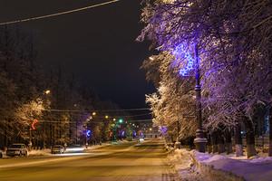 Утро. Советский проспект
