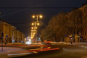 Утро. Площадь Ленина